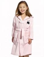 Детские халаты и полотенца Панда